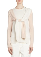 Loewe Cashmere Double-Layer Sweater