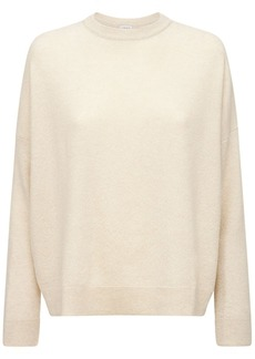 Loewe Cashmere Piqué Crewneck Sweater