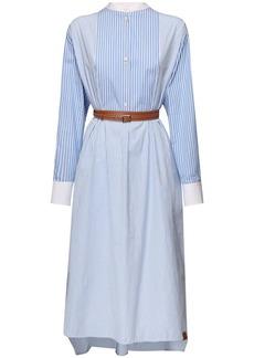 Loewe Cotton Poplin Shirt Dress