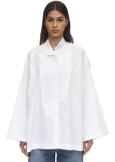 Loewe Cotton Poplin Tuxedo Shirt