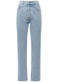 Loewe Cotton Straight Denim Jeans