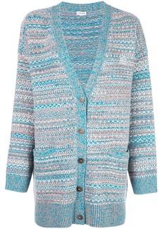 Loewe crochet knit cardigan