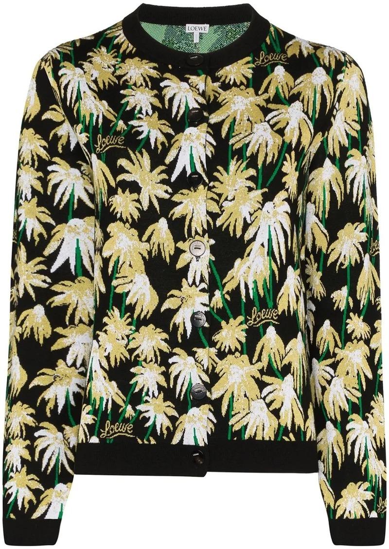 Loewe Daisy jacquard cardigan