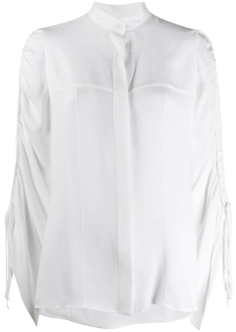 Loewe drawstring sleeve blouse