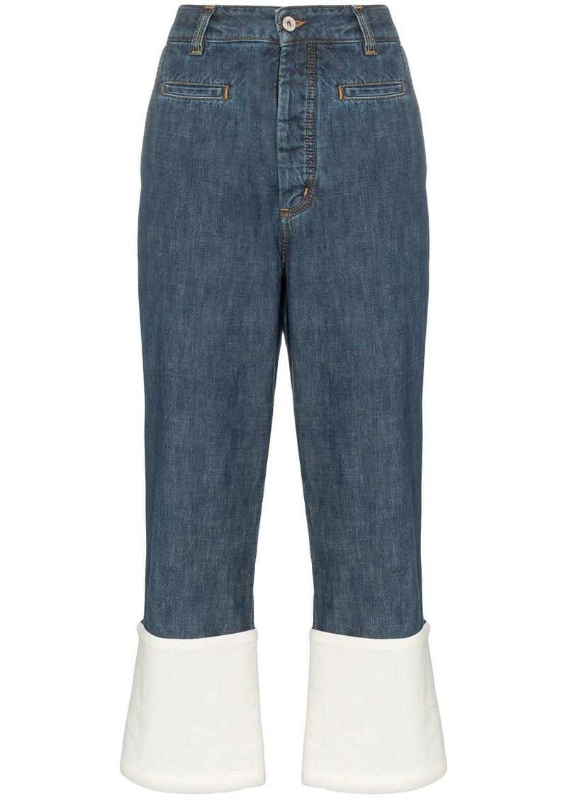 Loewe Fisherman cropped jeans