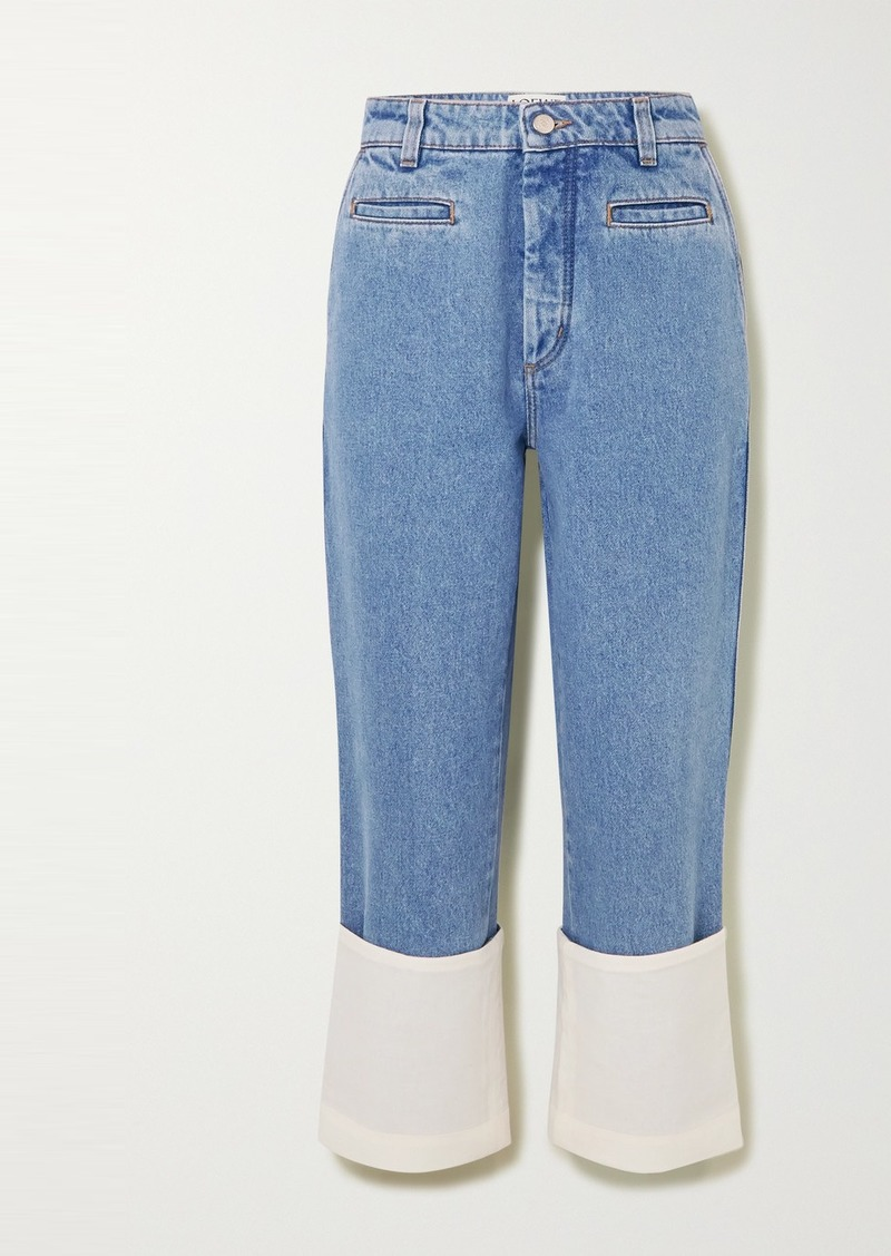 Loewe Fisherman High-rise Straight-leg Jeans