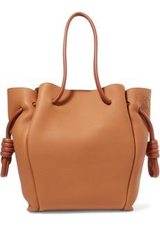 Loewe Flamenco Small Textured-leather Tote