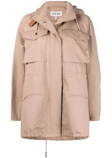 Loewe flap pocket A-line jacket