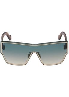 Loewe Flat Mask Metal Sunglasses