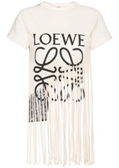 Loewe fringe logo t shirt abv7ab95ce7 a