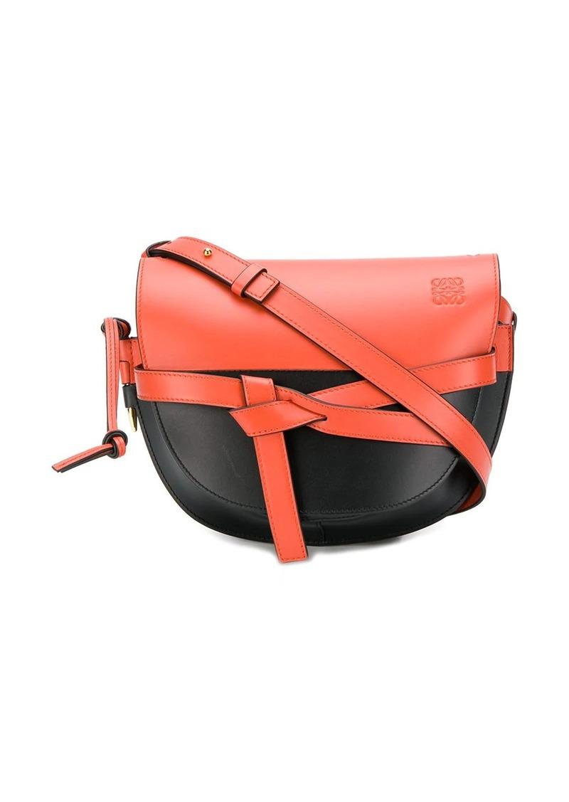Loewe Gate colour block cross body bag