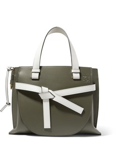 Loewe Gate Small Two-tone Leather Tote