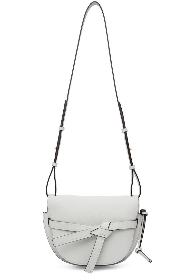 Loewe Grey Small Gate Bag