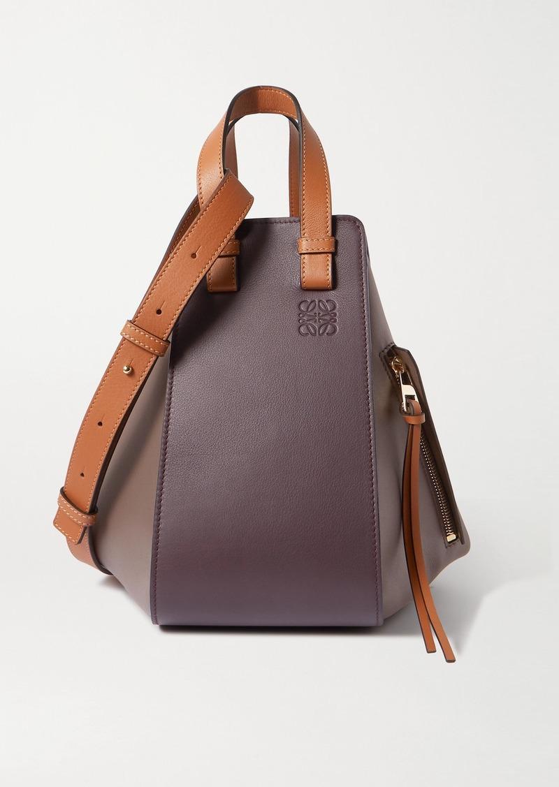 Loewe Hammock Medium Color-block Leather Shoulder Bag