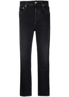 Loewe high-waisted faded straight-leg jeans