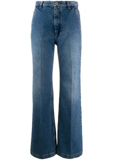 Loewe high-waisted flared jeans