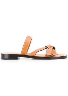 Loewe knot detail slip-on sandals