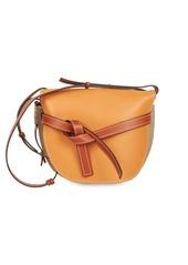 Loewe Large Colorblock Leather Gate Crossbody Bag