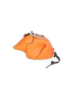 Loewe Leather Mouse Charm