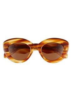 Loewe 50mm Round Sunglasses