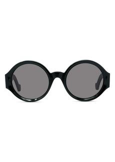 Loewe 53mm Round Sunglasses