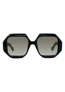 Loewe 54mm Hexagonal Sunglasses