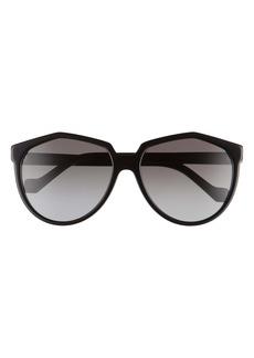 Loewe 59mm Cat Eye Sunglasses