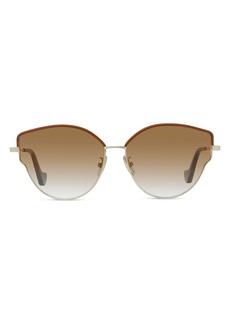 Loewe 60mm Gradient Butterfly Sunglasses