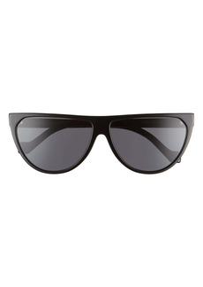 Loewe 61mm Flat Top Sunglasses