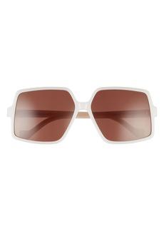 Loewe 61mm Square Sunglasses