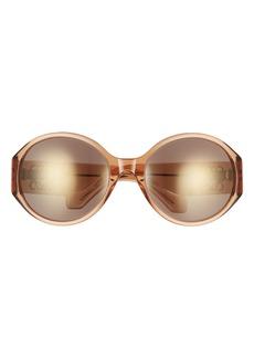 Loewe 63mm Oversize Round Sunglasses