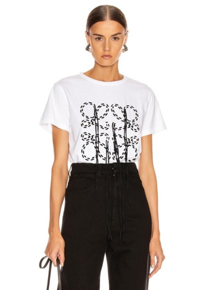 Loewe Anagram Stitch T Shirt