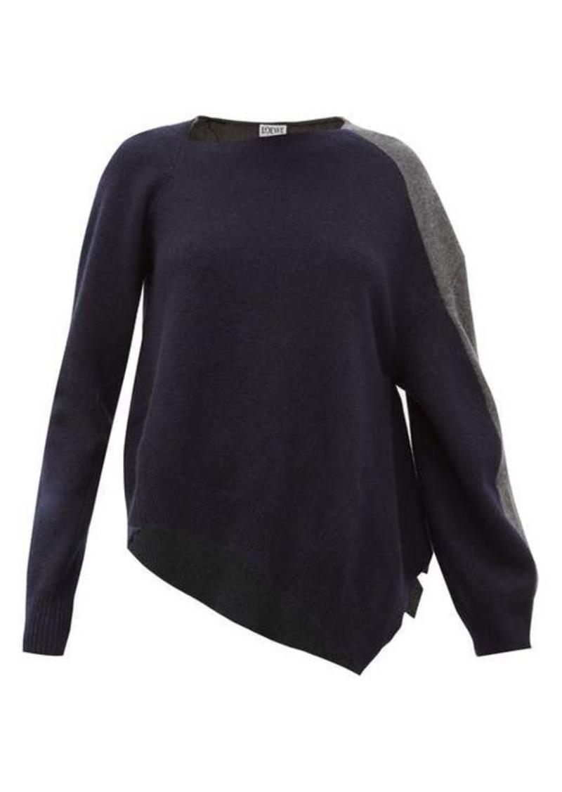 Loewe Asymmetric wool-blend sweater
