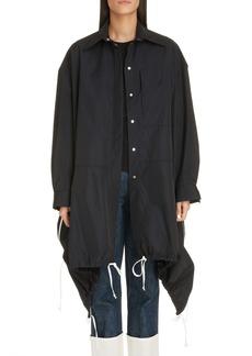 Loewe Asymmetrical Drawstring Jacket
