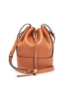 Loewe Balloon small drawstring-top leather bucket bag