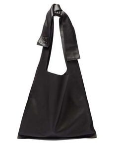 Loewe Bow oversized nappa-leather tote bag