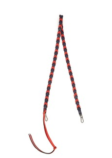 Loewe Braided leather bag strap
