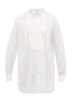 Loewe Broderie-anglaise cotton blouse
