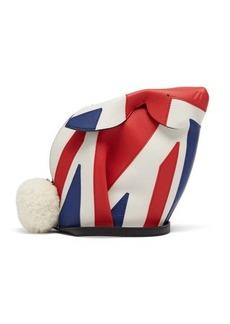Loewe Bunny London mini leather cross-body bag