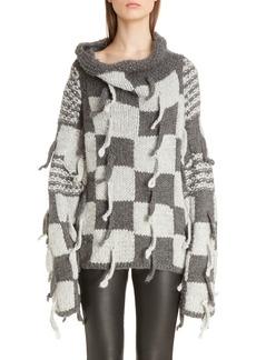 Loewe Chunky Knit Wool & Alpaca Sweater