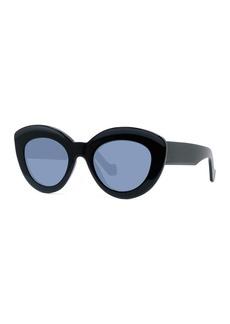 Loewe Chunky Shiny Acetate Cat-Eye Sunglasses