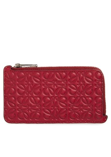 Loewe Coin & Card Leather Zip Pouch