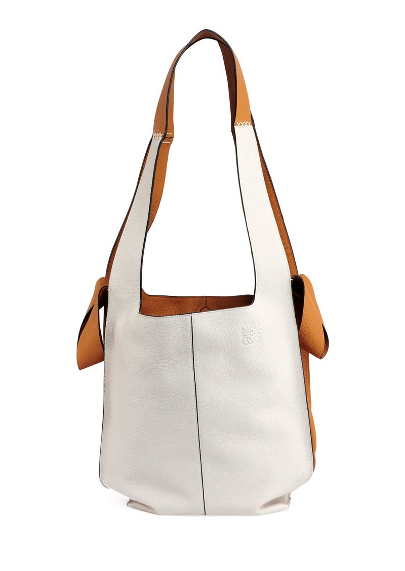 66bc3970f Loewe Colorblock Leather Hobo Tote Bag | Handbags