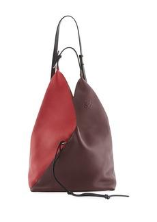 Loewe Colorblock Sling Grain Bucket Bag