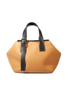 Loewe Cube large leather tote bag