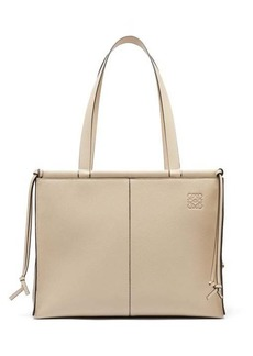 Loewe Cushion grained-leather tote