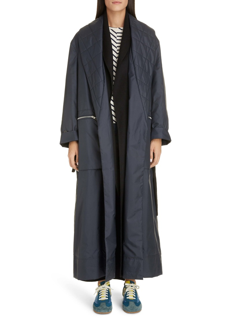 Loewe Double Layer Wrap Coat