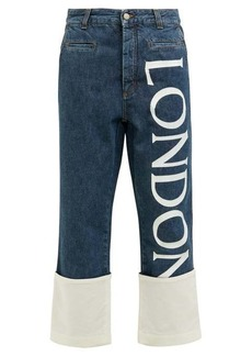 Loewe Fisherman cropped straight-leg jeans