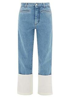 Loewe Fisherman turn-up cuff jeans