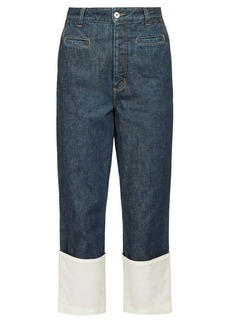 Loewe Fisherman turn-up cuff jeans